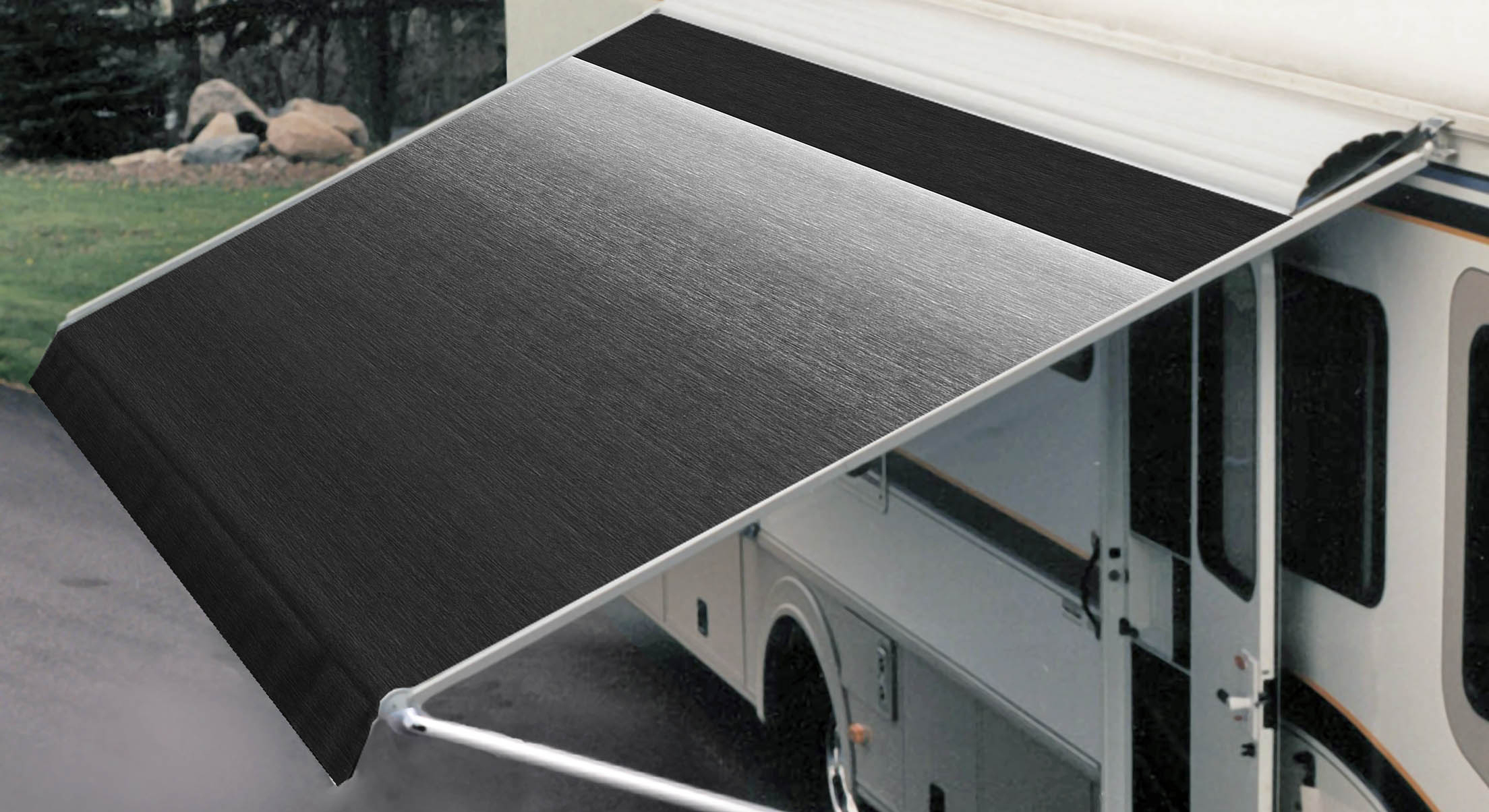 Awnings For Rvs : Snowy peaks